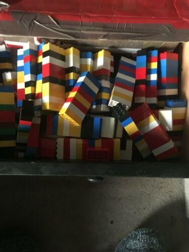 quantità 100 spedizione gratuita LEGO usato BRICKS 2 x 4 MPN 3001
