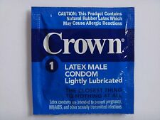 Okamoto CROWN Condom Skinless Thinnest 3pcs LOT OF 3