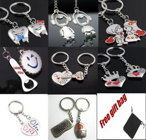 I Love You Heart Couples Keyrings Puzzle Lovers Anniversary Lovers ... 901c6d2488d2