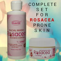 Rosacea Face Cream & Cleanser/wash For Treatment Of Itching Irritating Skin