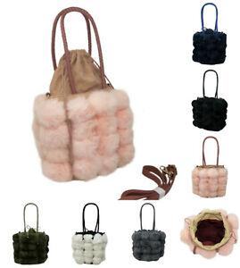Ladies Barrel Shape Snakeskin Texture Hand Bag Women Tote Travel Shoulder 1271