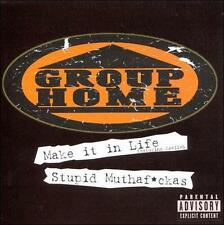 Stupid Muthafuckas [Single] by Group Home (CD, May-1999, Replay)