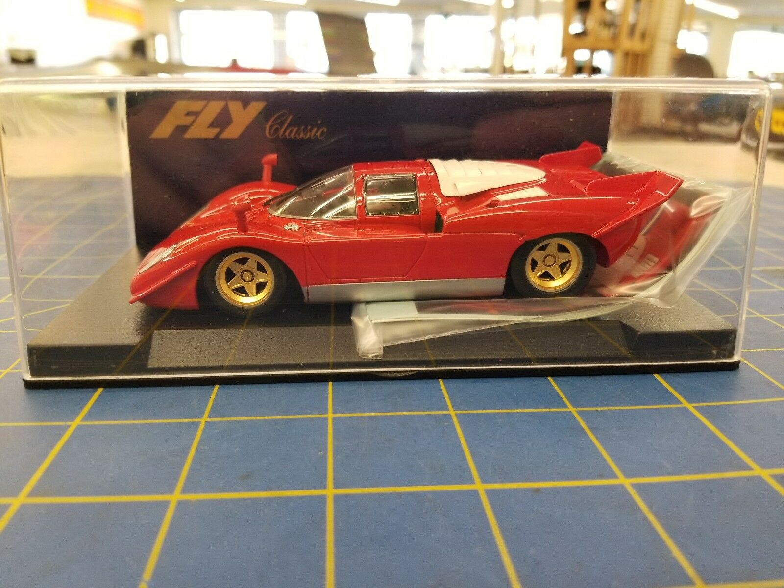 flygagag C24 Ferrari 512 S Berlinetta Calcas Decals 1  32 Slot Bil