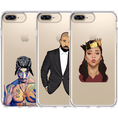 iPhone Cover Case Rap Hip-Hop Cartoon Anime Style Music Style  - Customlads