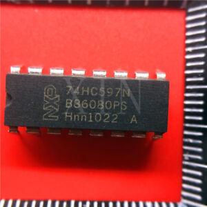 10pcs-74HC597N-Phillips-16-PIN-DIP-new