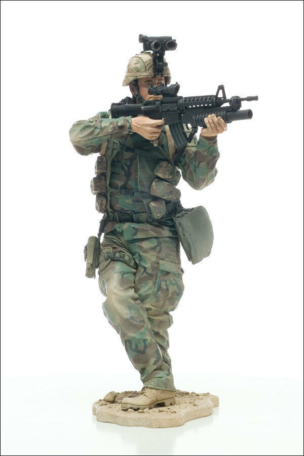 Army Paratrooper 30Cm 12  McFarlane's Military Toys Action Figure Ultra Rare
