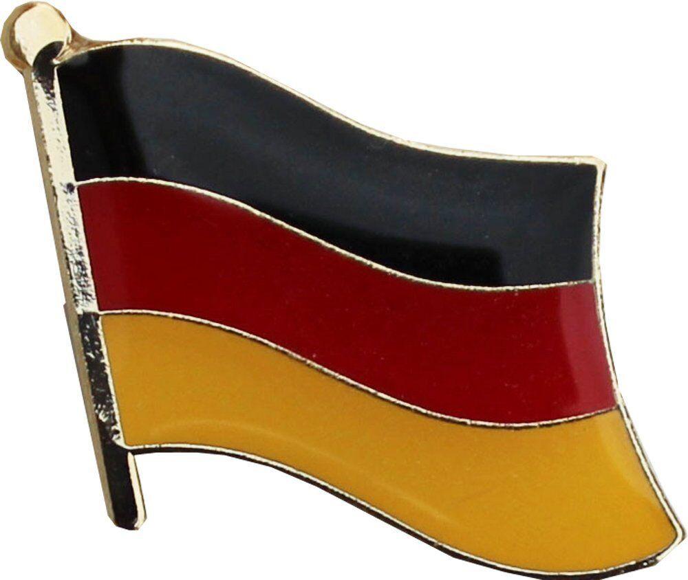 Großhandel 50 Stück Packung Deutsch Landesflagge Fahrrad Hut Kappe Reversnadel