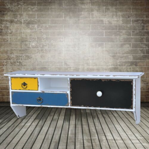 Antik Shabby Look Kommode Vintage Style Sideboard Wandgarderobe Landhaus Schrank