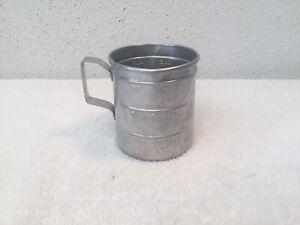 VINTAGE-ALUMINUM-1-CUP-MEASURING-CUP-DOUBLE-POUR-SPOUT