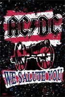 Ac/dc - We Salute You - Fishwick Art Poster 24x36 - Music 0808