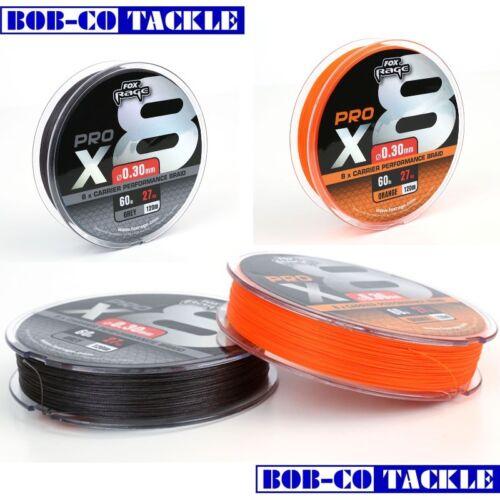 Fox Rage Pro x8 Performance Braid 120m