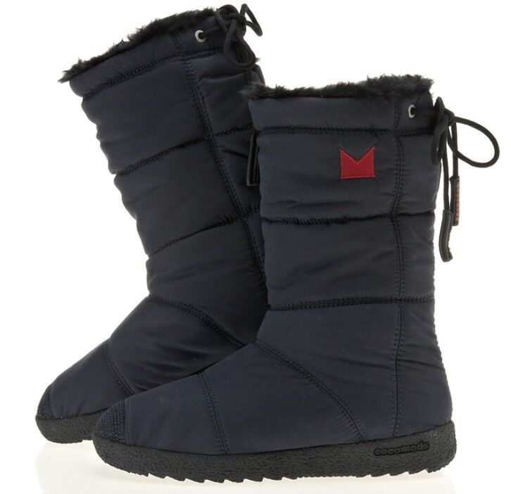 COCOMODS waterproofing padding boots/ lapland mid padding fake fur shoes