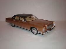 1/18 Bos Models 1975 Lincoln Continental Sedan brown LE of 1000