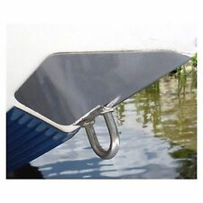 """SS Marine BowShield Bow Guard - Small 6.5"""" x 6"""", Stainless Steel Boat MD"""