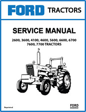 Ford New Holland 2600 7700 Service Manual 3 Volumes Print Version