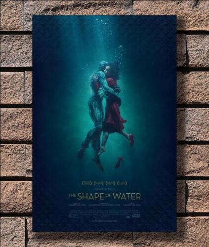 KX641 The Shape Of Water 2017 New Movie Print 20x30 24x36 40in Silk Poster