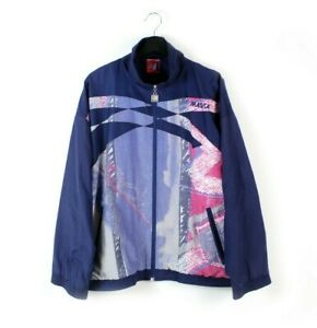 90s MASITA Profi Line vintage track jacket light soft shell retro men L XL