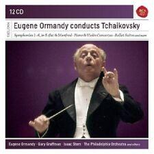 EUGENE ORMANDY - EUGENE ORMANDY CONDUCTS TCHAIKOVSKY  (12 CD)  NEU