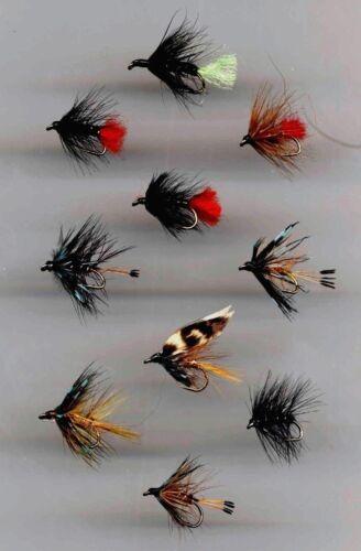code 103 Details about  /Trout Flies Bushy Wet Flies x 10 all size 12