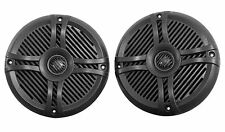"""Pair Rockville RMSTS65B 6.5"""" 800w Waterproof Marine Boat Speakers 2-Way Black"""