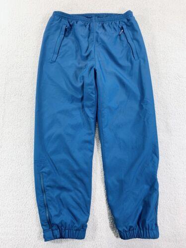 in teal nylon 1990/'s athletic pants by Eddie Bauer