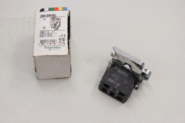 SCHNEIDER ELECTRIC ZB4BW061 250V 10A 1NC Lampenfassung ZB4BW061 NEU