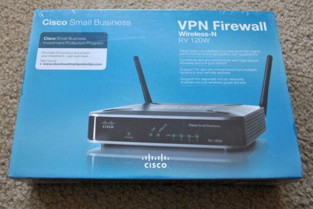 Cisco Rv120w Wireless-n VPN Firewall Router
