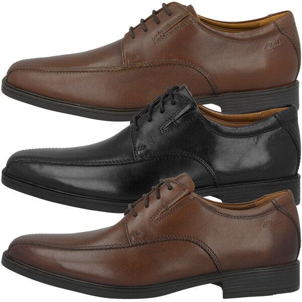 Clarks Tilden Walk zapatos Men señores zapato bajo ejecutivo cuero schnürzapatos