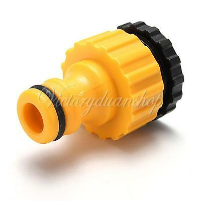 """3/4"""" Threaded Plastic Home Garden Water Hose Pipe Connector Tube Fitting Tap"""