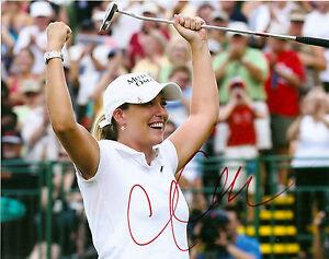 LPGA-Cristie-Kerr-Autographed-Signed-8x10-Photo-COA