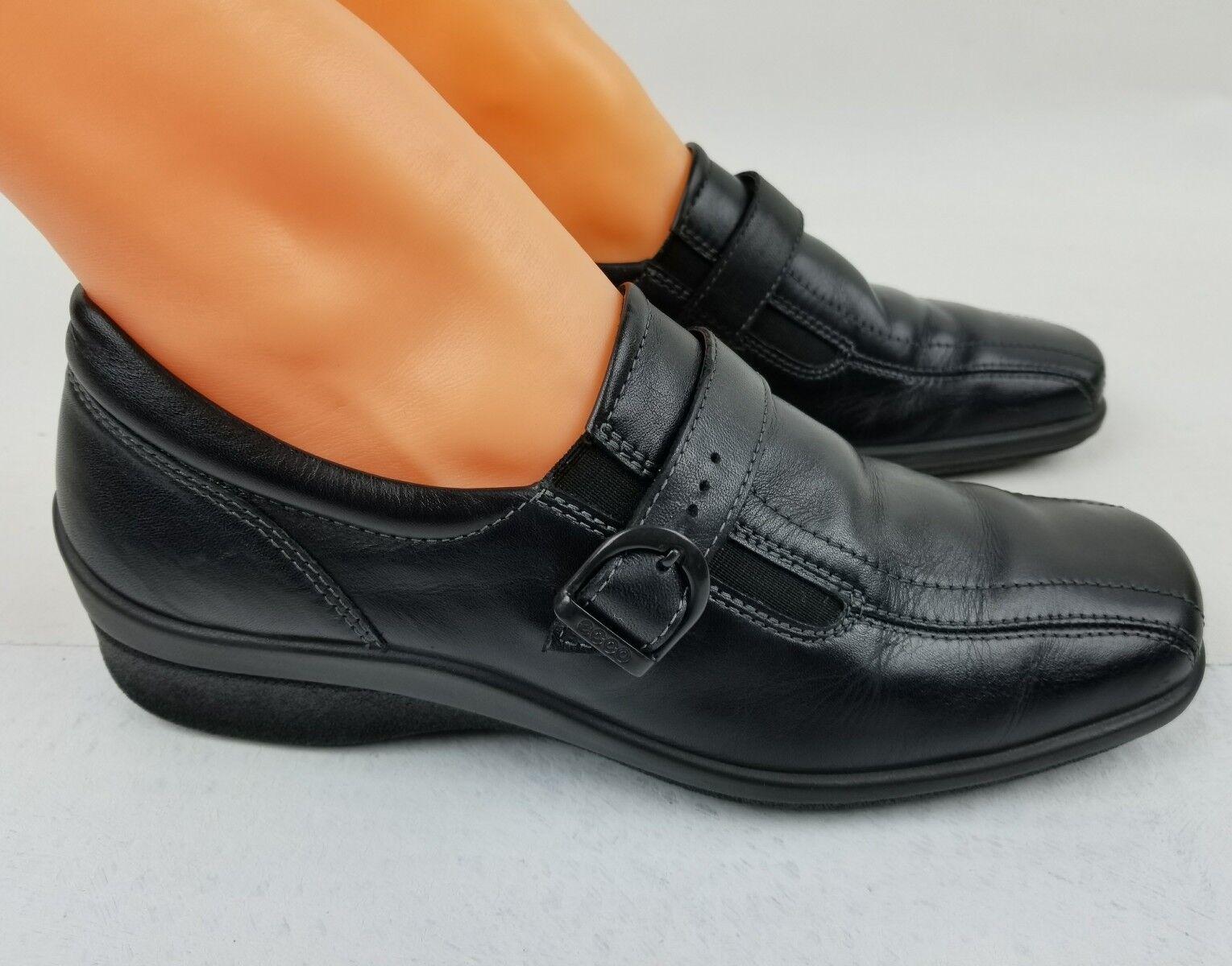 ECCO Footwear Women's Black Slip-on shoes Size 8 EU 38