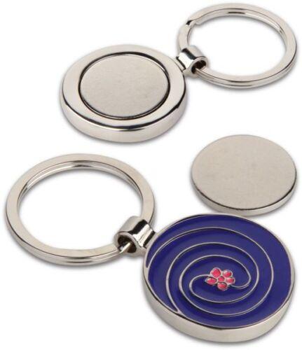Portachiavi portagettone con gettone per carrello della spesa in metallo 0MF3