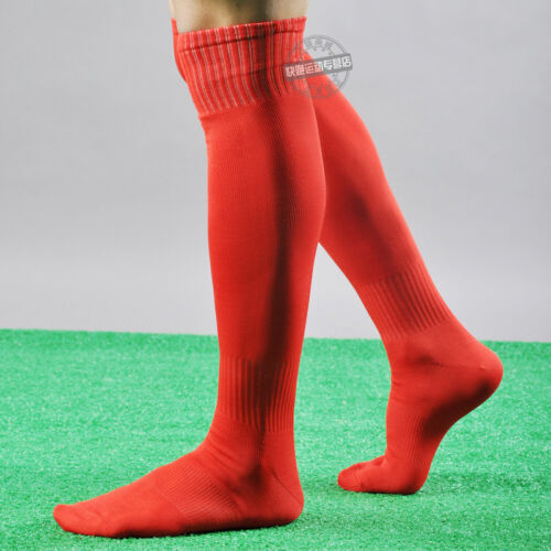 Men/'s Sport football Soccer plain Long Socks Over Knee High Sock Baseball Hockey