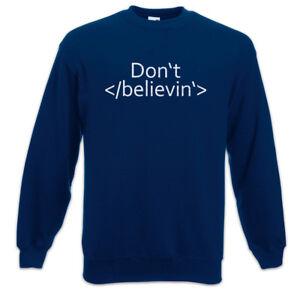 Designer Scientist Computer Css Believin Pullover Sweatshirt Web not Do Html xRznH