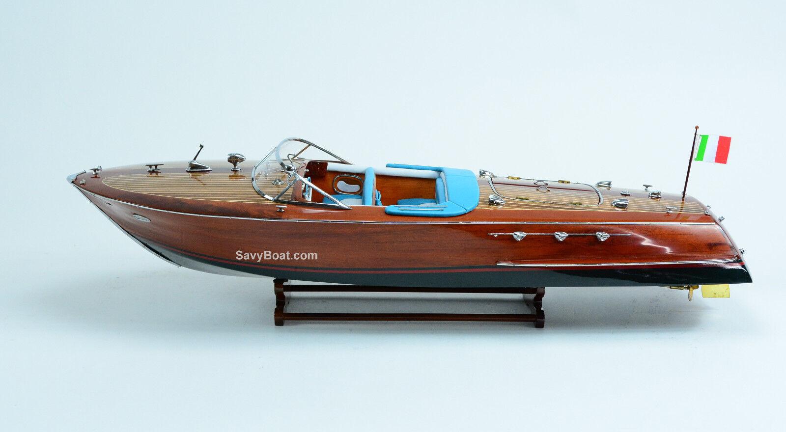 Riva Ariston Handmade Wooden Speedboat Model 35