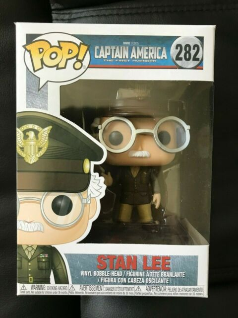 Funko POP! Captain America - Stan Lee Cameo as General #282 Exclusive