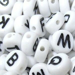 100-Pcs-6-5mm-Individual-Alphabet-Letter-Flat-Round-Beads-Variety-of-Alphabet