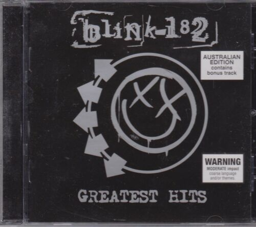 1 of 1 - BLINK 182 - GREATEST HITS - CD - NEW -