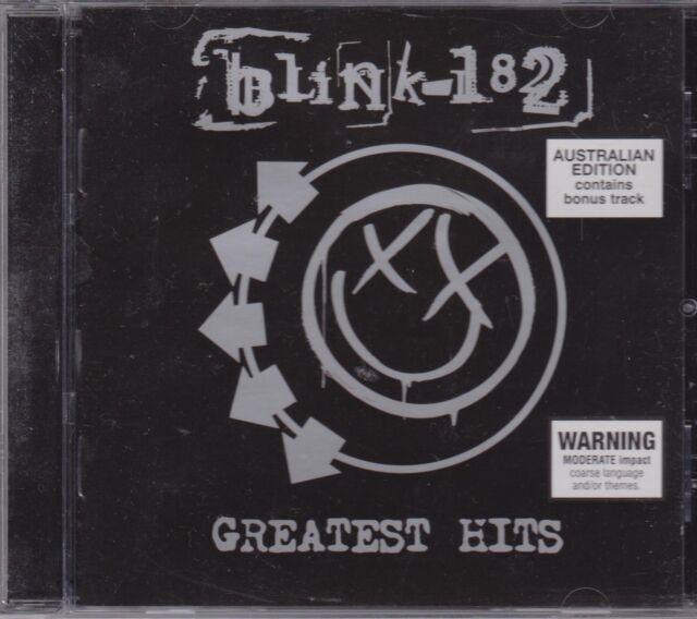 BLINK 182 - GREATEST HITS - CD - NEW -