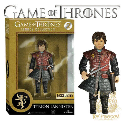 """TYRION LANNISTER Game of Thrones Funko Legacy Collection 6/"""" Walgreens Exclusive"""