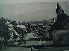 ephemera 1960 picture village of trauten fells six days trial motor bikes
