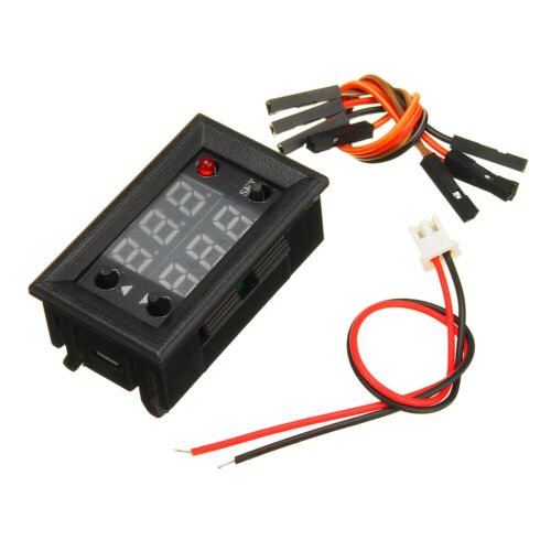 3pcs Signal Generator PWM Pulse Frequency Duty Cycle Adjustable Module With LCD