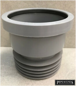"""Plastic - Cast Iron or Clay Drain Connector Coupling Adaptor 110mm 4"""" Soil Pipe"""