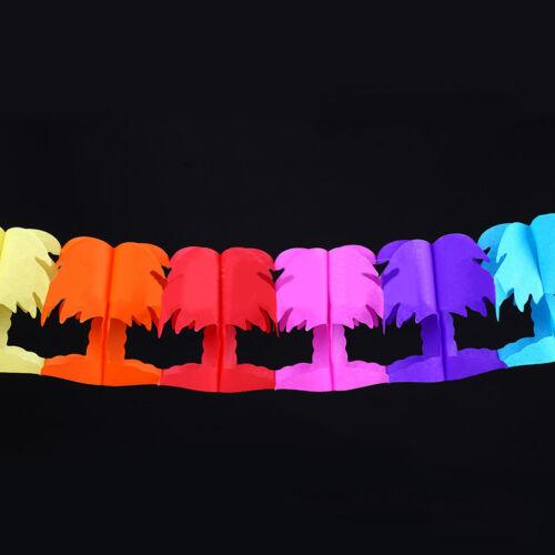 Rainbow Hawaii flag Beach Party tropical Decor