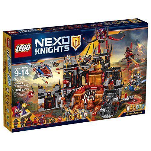 LEGO Nexo Knights Jestros Volcano Lair Building Kit (1186 Piece)