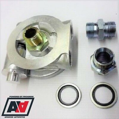 Ford Pinto 2.0 Mocal Oil Cooler Sandwich Plate 80 Deg Stat With 1//2BSP Adaptors