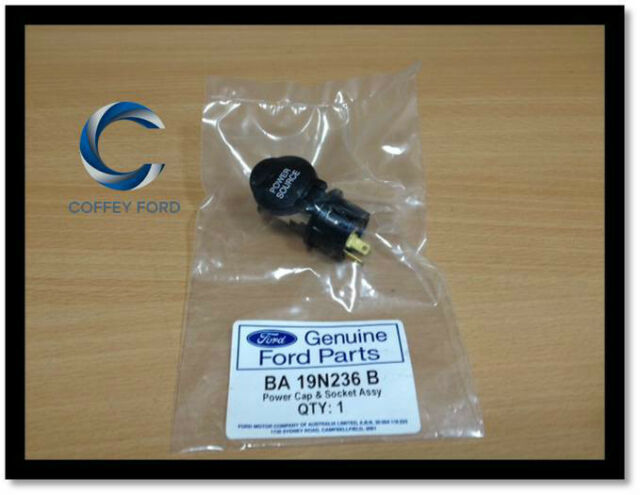 Genuine Ford Falcon / Territory Auxiliary Power Source Socket. BA/BF, SX/SY/SZ.