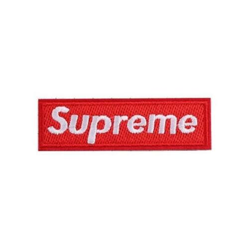 Supreme Logo Banner Iron On Patch