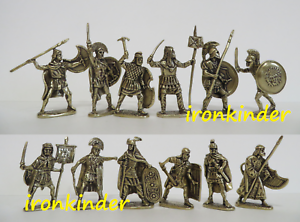 gold collection - Romans and Gauls bronze Toy soldier 40mm