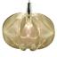 Faden-Pendel-Leuchte-XL-Kunststoff-Transparent-Haenge-Lampe-Vintage-70er-Jahre Indexbild 1